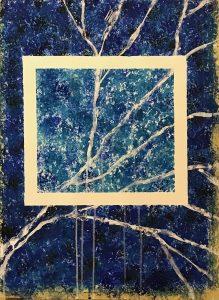 uschi polly - atelier up - malwerkstatt moedling-marketing moedling- kunstkurs modling- kunst workshop moedling- Uschi Polly- color up your life- blauer marmor
