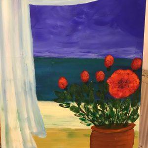 uschi polly - atelier up - malwerkstatt moedling-marketing moedling- kunstkurs modling- kunst workshop moedling- Uschi Polly- color up your life-blick aus dem fenster