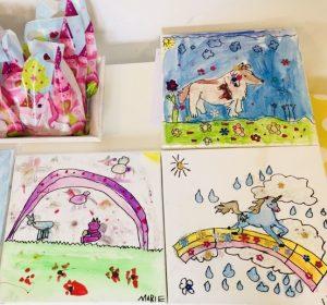 uschi polly - atelier up - malwerkstatt moedling-marketing moedling- kunstkurs modling- kunst workshop moedling- Uschi Polly- color up your life- einhorn geburtstagsparty bilder
