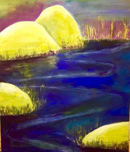 uschi polly - atelier up - malwerkstatt moedling-marketing moedling- kunstkurs modling- kunst workshop moedling- Uschi Polly- color up your life- flus im mondlicht