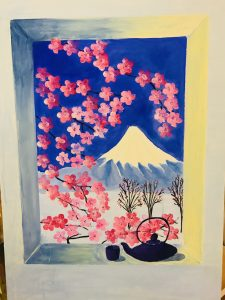 uschi polly - atelier up - malwerkstatt moedling-marketing moedling- kunstkurs modling- kunst workshop moedling- Uschi Polly- color up your life- mount fuji 2