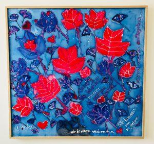 uschi polly - atelier up - malwerkstatt moedling-marketing moedling- kunstkurs modling- kunst workshop moedling- Uschi Polly- color up your life- seidenbild 1