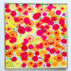 uschi polly - atelier up - malwerkstatt moedling-marketing moedling- kunstkurs modling- kunst workshop moedling- Uschi Polly- color up your life- seidenbild 3